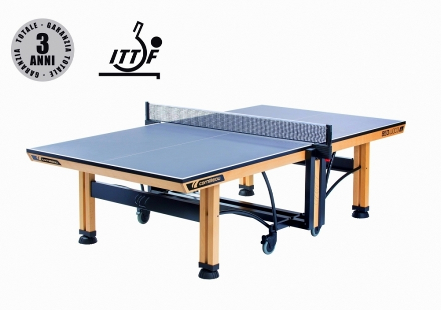 CORNILLEAU TAVOLO DA PING PONG COMPETITION 850 WOOD ITTF INDOOR