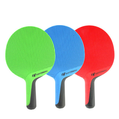 RACCHETTE PING PONG SOFTBAT RED/BLUE/GREEN