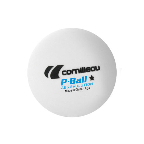 P-BALL ABS EVOLUTION 1* ITTF (72 pz. bianche)